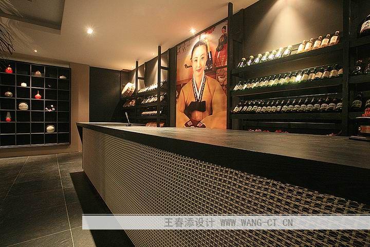 室内设计 王春添 韩式料理店 现代简约风格 装修 实景 平面图
