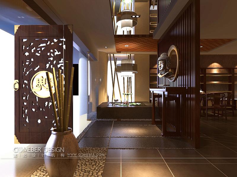 宽北设计机构 室内设计 陈启雄 工装 中式风格 装修 效果图